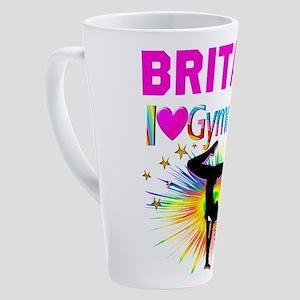 GYMNAST DREAMS 17 oz Latte Mug