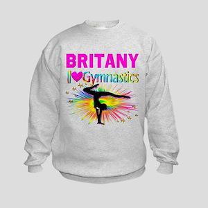 GYMNAST DREAMS Kids Sweatshirt