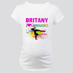 GYMNAST DREAMS Maternity T-Shirt