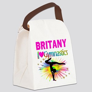 GYMNAST DREAMS Canvas Lunch Bag