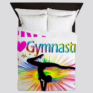 GYMNAST DREAMS Queen Duvet
