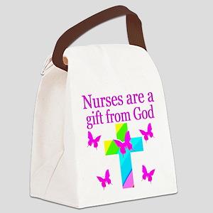 SPECIAL NURSE Canvas Lunch Bag