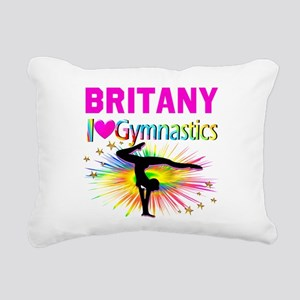 GYMNAST DREAMS Rectangular Canvas Pillow