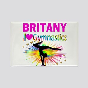 GYMNAST DREAMS Rectangle Magnet