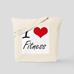 I love Fitness Tote Bag