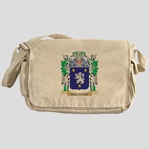 Balducci Coat of Arms - Family Crest Messenger Bag