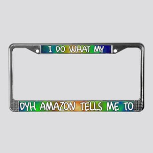 Do what DYH Amazon Parrot License Plate Frame