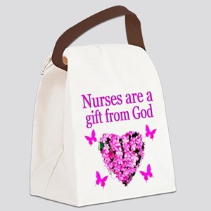 LOVE MY NURSE Canvas Lunch Bag