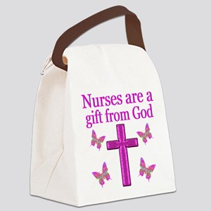 NURSING BLESSING Canvas Lunch Bag