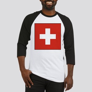 Switzerland Flag Baseball Jersey