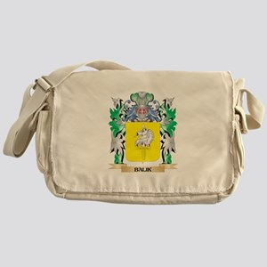 Balik Coat of Arms - Family Crest Messenger Bag