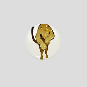 Lioness Mini Button