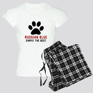 Russian Blue Simply The Bes Women's Light Pajamas