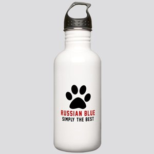Russian Blue Simply Th Stainless Water Bottle 1.0L