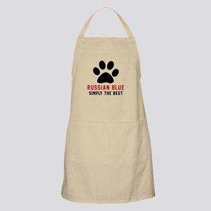 Russian Blue Simply The Best Cat Designs Apron