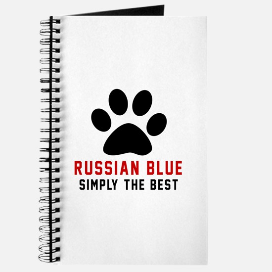 Russian Blue Simply The Best Cat Designs Journal