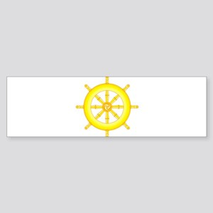Wheel of Dharma Bumper Sticker
