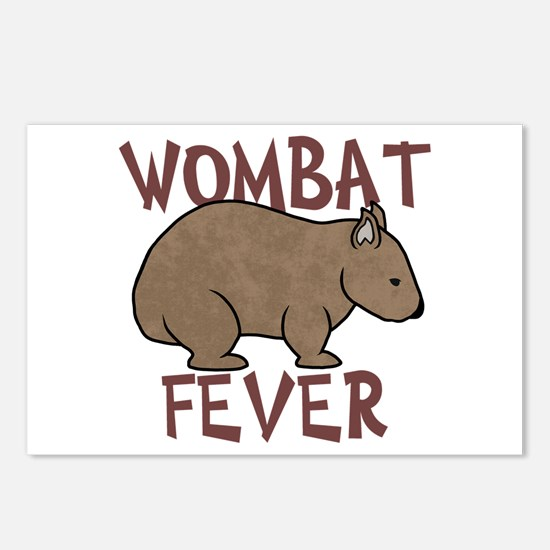 Wombat Fever III Postcards (Package of 8)