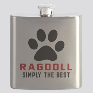 Ragdoll Simply The Best Cat Designs Flask