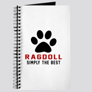 Ragdoll Simply The Best Cat Designs Journal