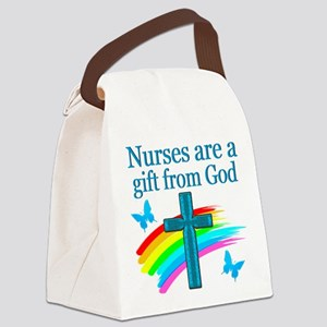 NURSING LOVE Canvas Lunch Bag