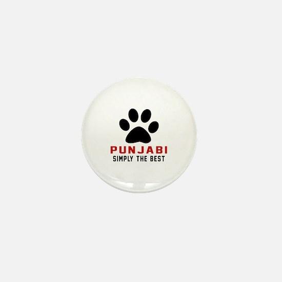 Punjabi Simply The Best Cat Designs Mini Button