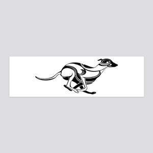 Greyhoundofficial 36x11 Wall Decal