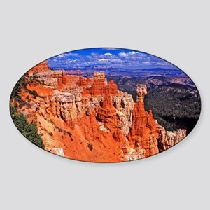 Thor's hammer, Bryce Canyon N.P. Sticker (Oval)