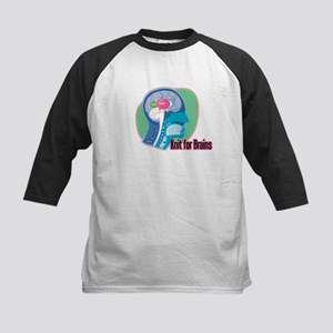 Knit for Brains Kids Baseball Jersey