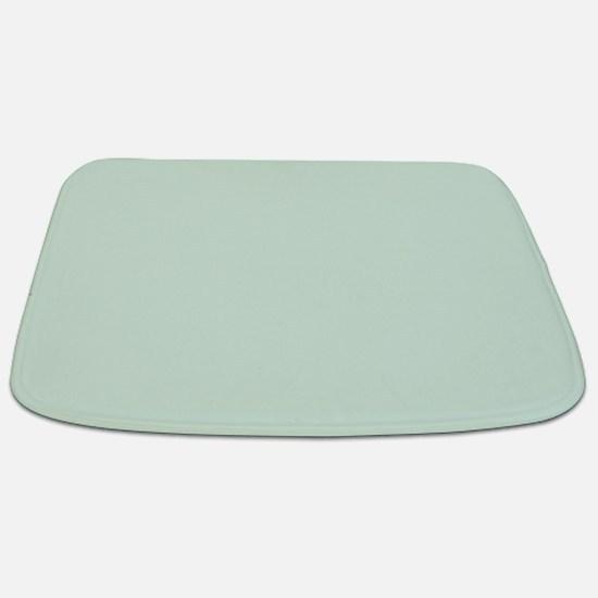 Mint Solid Color Bathmat