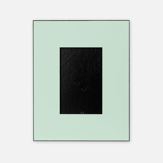 Mint Solid Color Picture Frame