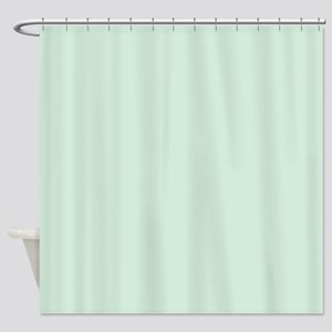 Mint Color Shower Curtains CafePress Colored Curtain Ideas Dollclique Com