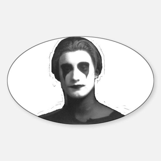 Mark Makeup Oval Decal