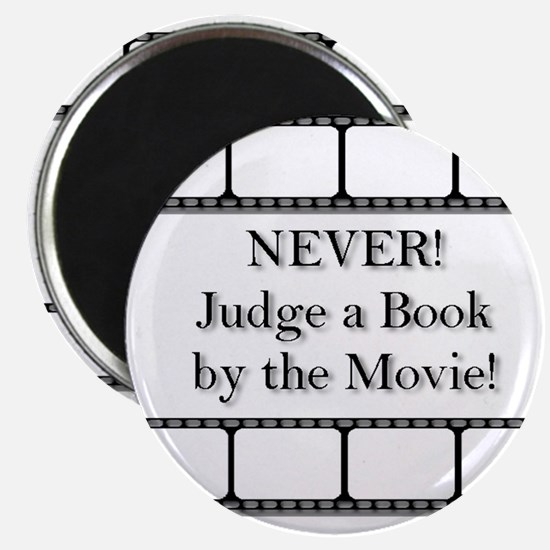 Judge a book Magnet