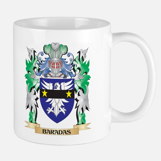 Baradas Coat of Arms - Family Crest Mugs