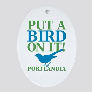 Portlandia Oval Ornament