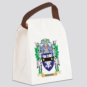 Barada Coat of Arms - Family Cres Canvas Lunch Bag