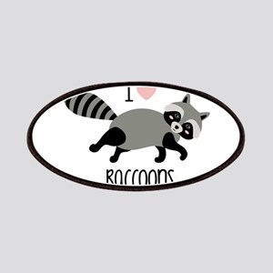 I Love Raccoons Patch