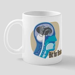 (Drill) Bit for Brains (1) Mug