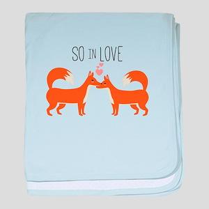 So In Love baby blanket