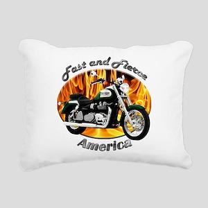 Triumph America Rectangular Canvas Pillow