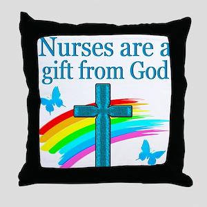 NURSING LOVE Throw Pillow