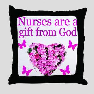 LOVE MY NURSE Throw Pillow