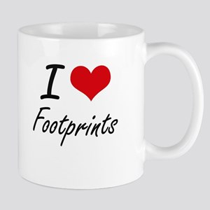 I love Footprints Mugs