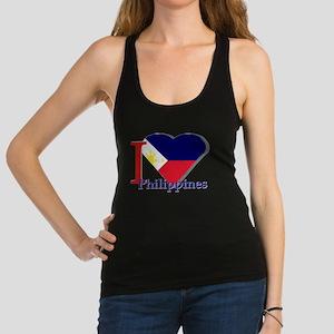 I love Philippines Racerback Tank Top