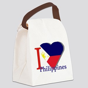 I love Philippines Canvas Lunch Bag