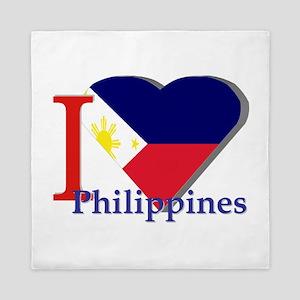 I love Philippines Queen Duvet