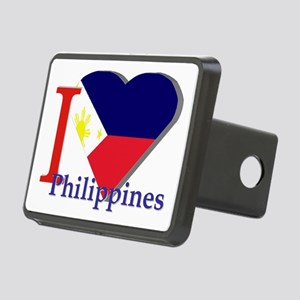 I love Philippines Rectangular Hitch Cover