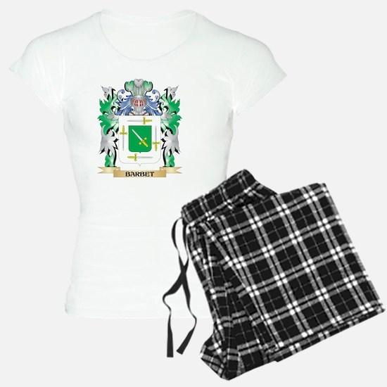 Barbet Coat of Arms - Famil Pajamas