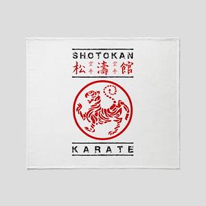 Shotokan Karate Throw Blanket